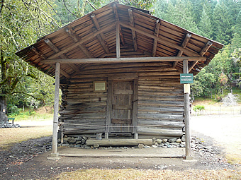 Zane Grey's Cabin on the Rogue River